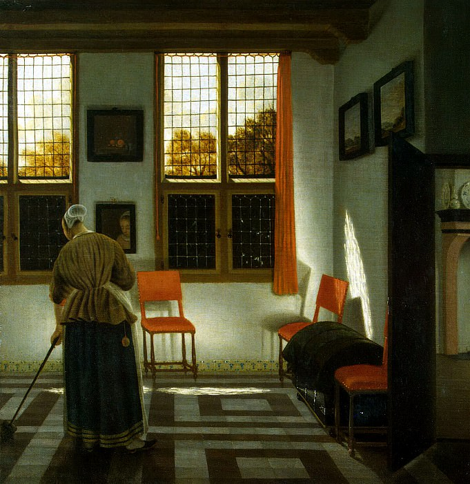Elinga Janssens, Peter. Room in a Dutch House. Hermitage ~ part 13