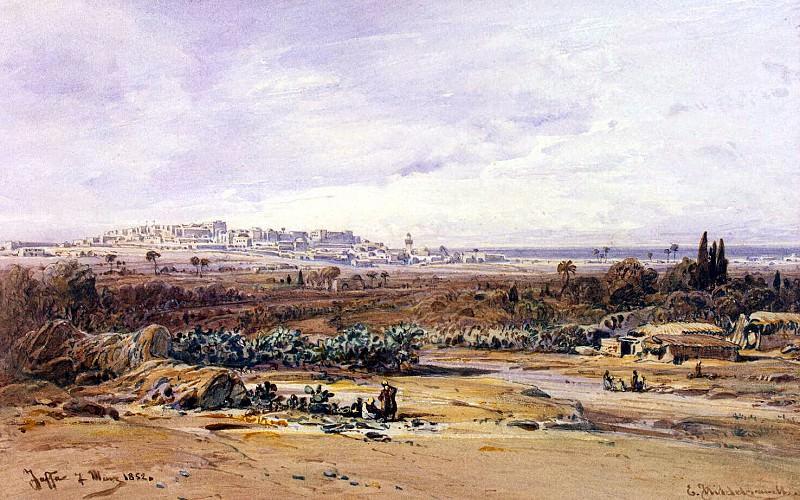 Хильдебрандт, Эдуард - Вид Яффы. Эрмитаж ~ часть 13