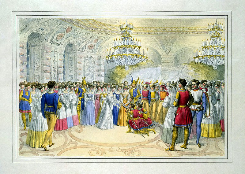 Sturmer, Johann Heinrich. Rewarding participants holiday. Hermitage ~ part 13