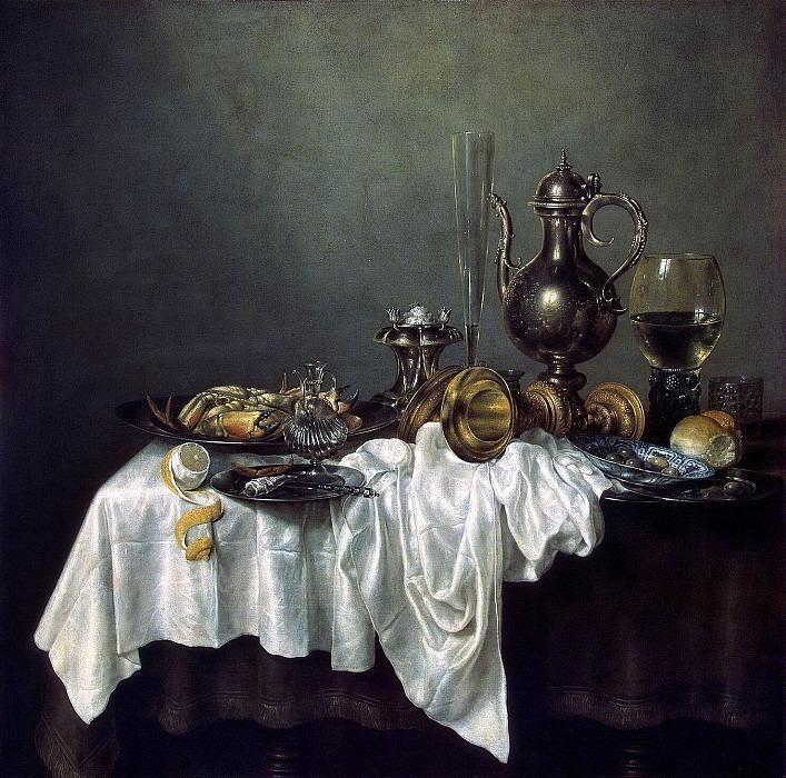 Heda, Willem Claesz. Breakfast with crab. Hermitage ~ part 13