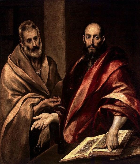 El Greco. Apostles Peter and Paul. Hermitage ~ part 13