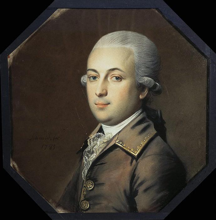 Шмидт, Иоганн Генрих - Портрет молодого человека с пудреными волосами. Эрмитаж ~ часть 13