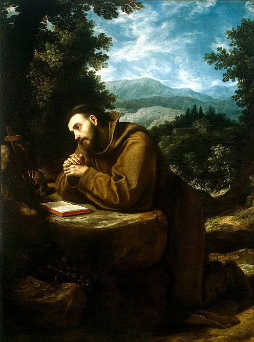 Cigoli. St. Francis. Hermitage ~ part 13