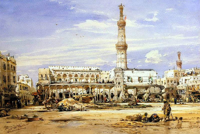 Hildebrandt, Eduard. Grand Mosque in Alexandria. Hermitage ~ part 13