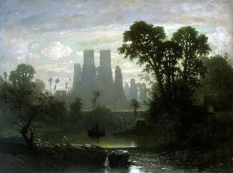 Hecht, Guillaume Victor van der. The ruins of Kenilworth Castle. Hermitage ~ part 13