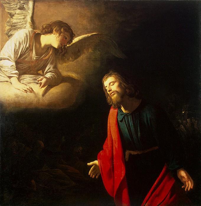 Honthorst, Gerrit van. Christ in Gethsemane. Hermitage ~ part 13