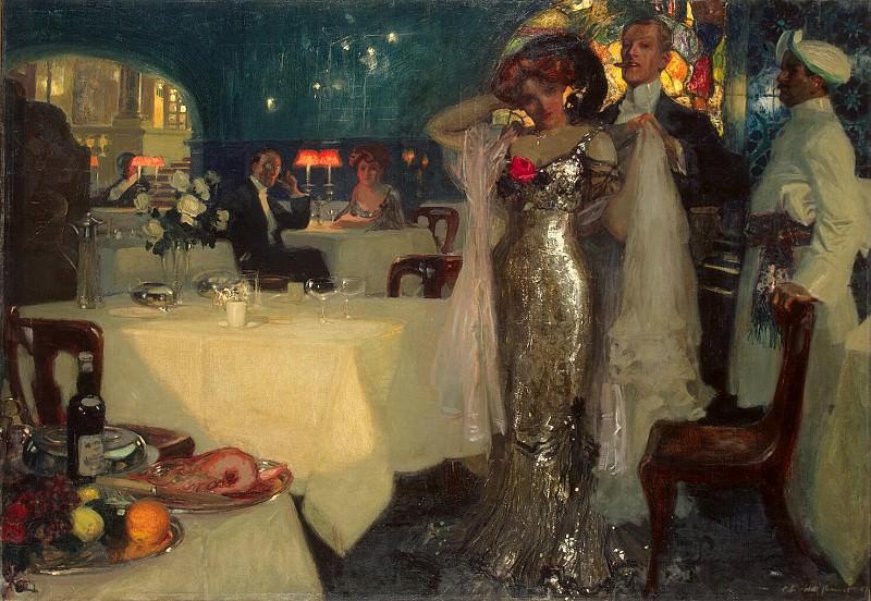 Hoffbauer, Charles. Restaurant. Hermitage ~ part 13