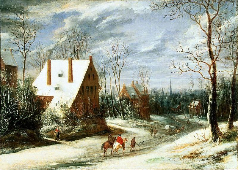 Хейль, Даниель ван - Зимний пейзаж. Эрмитаж ~ часть 13