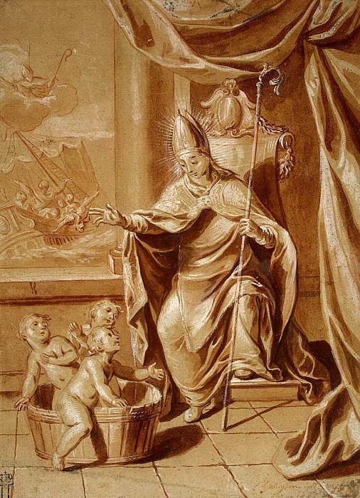 Erlyuizon, Louis. Miracle of St.. Nicholas. Hermitage ~ part 13