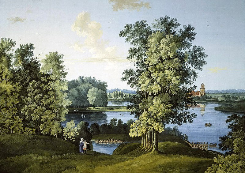 Shchedrin Semyon Fyodorovich. Kind of Big Pond in the Park. Hermitage ~ part 13