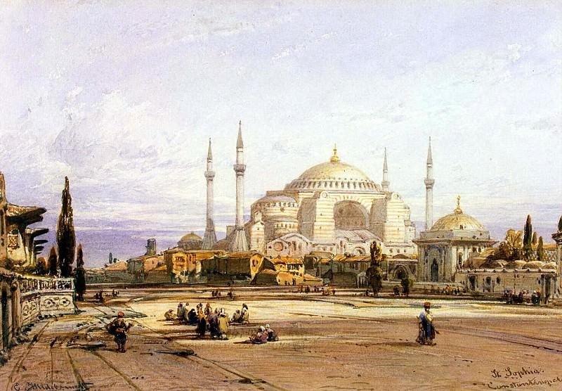Hildebrandt, Eduard. Church of St.. Sophia in Constantinople. Hermitage ~ part 13