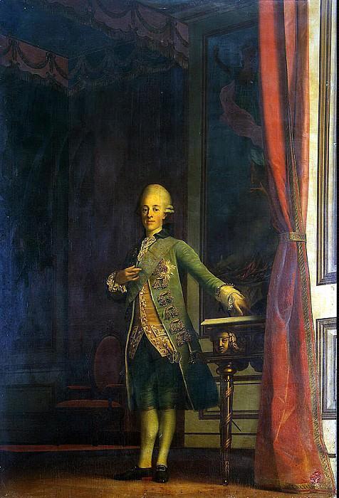 Eriksen, Virgilius. Portrait of Prince Frederick. Hermitage ~ part 13