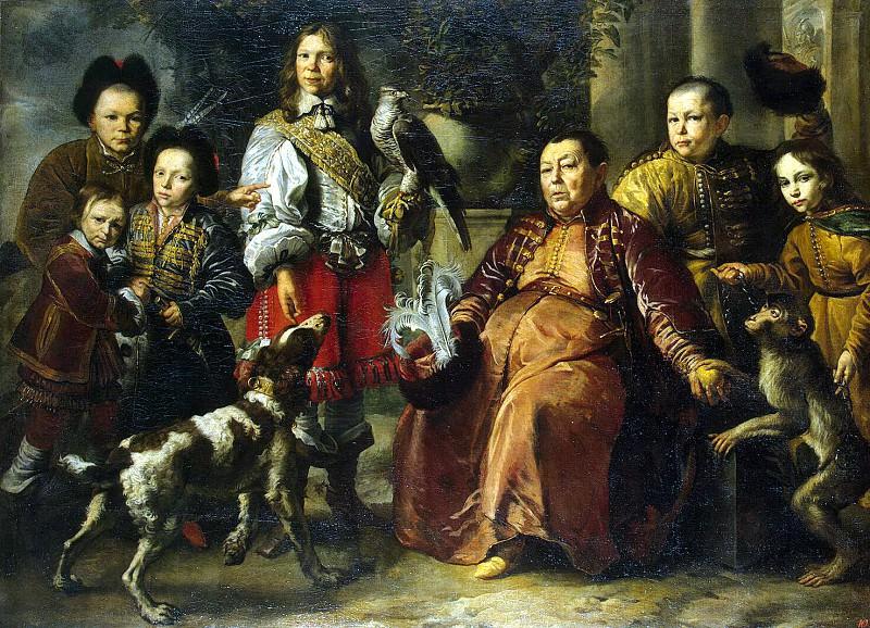 Schultz, Daniel. Family Portrait. Hermitage ~ part 13