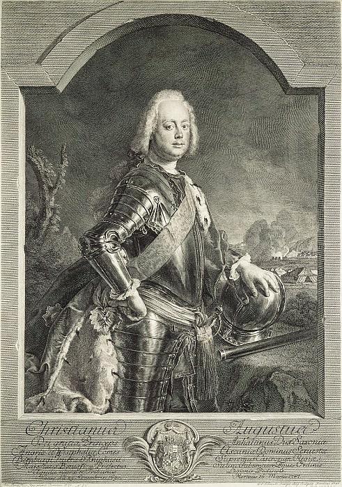 Шмидт, Георг Фридрих - Портрет принца Христиана Августа Ангальт-Цербского. Эрмитаж ~ часть 13
