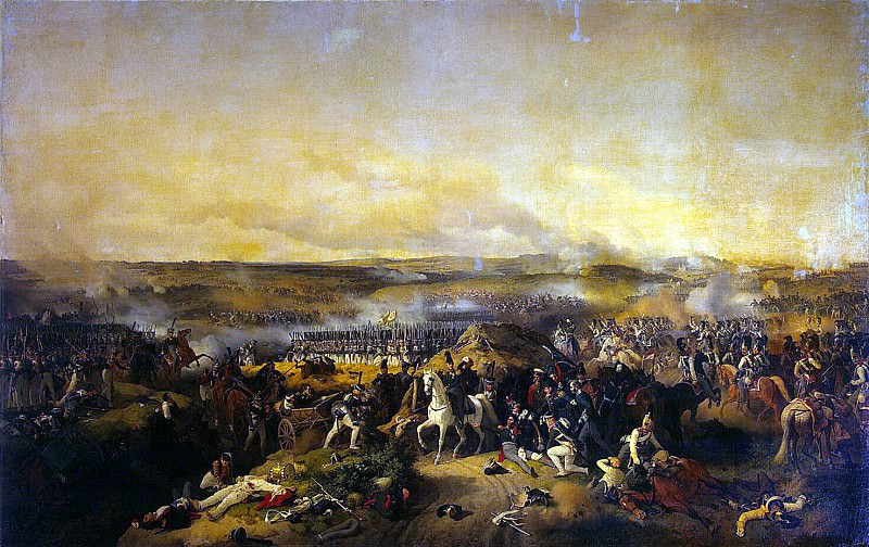 Hess, Peter von. Battle of Borodino on Aug. 26, 1812. Hermitage ~ part 13