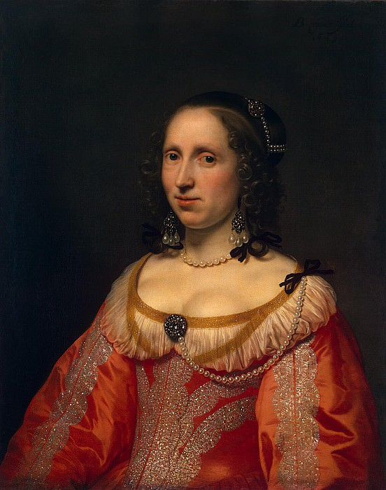 Helst, Bartholomeus van der. Portrait of a Woman. Hermitage ~ part 13