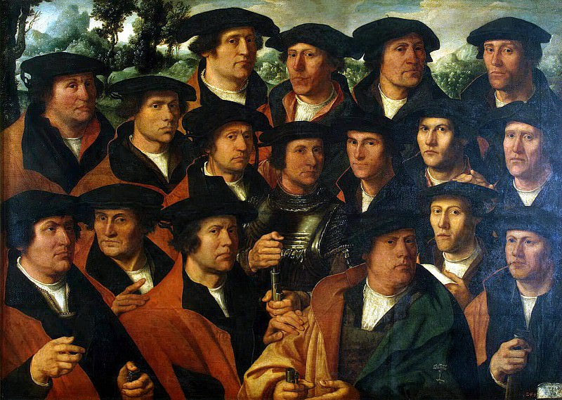 Jacobs, Dirk. Group Portrait Corporation of Amsterdam shooters. Hermitage ~ part 13