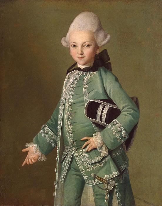 Христинек, Карл Людвиг - Портрет графа Алексея Григорьевича Бобринского. Эрмитаж ~ часть 13