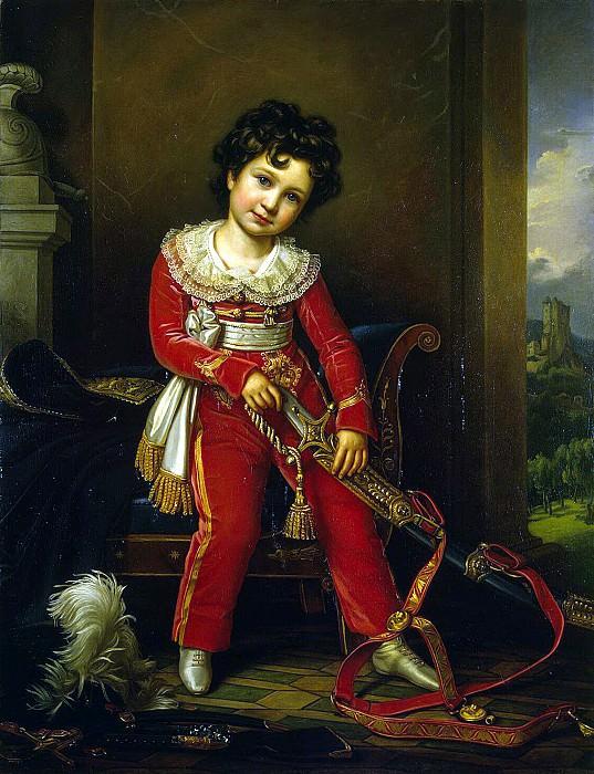 Shtiler, Josef Carl. Portrait of Maximilian Leuchtenberg. Hermitage ~ part 13