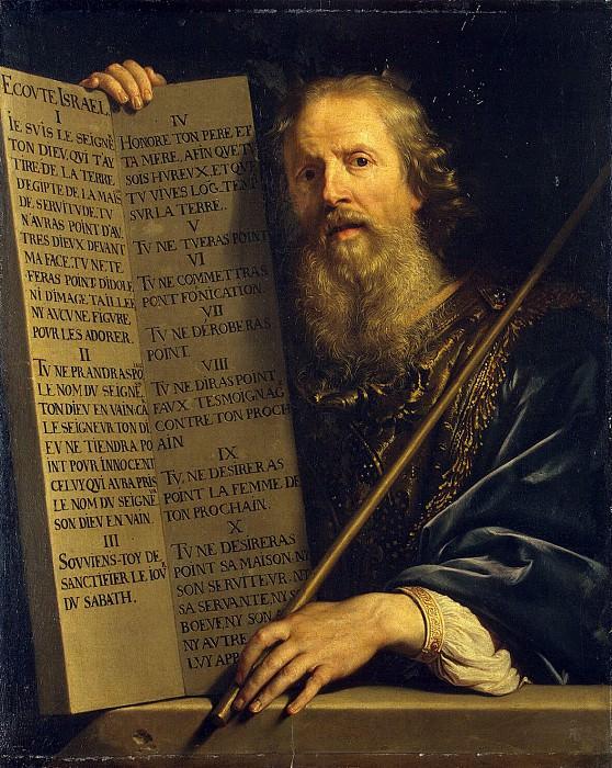 Shampen, Philippe de. Prophet Moses. Hermitage ~ part 13