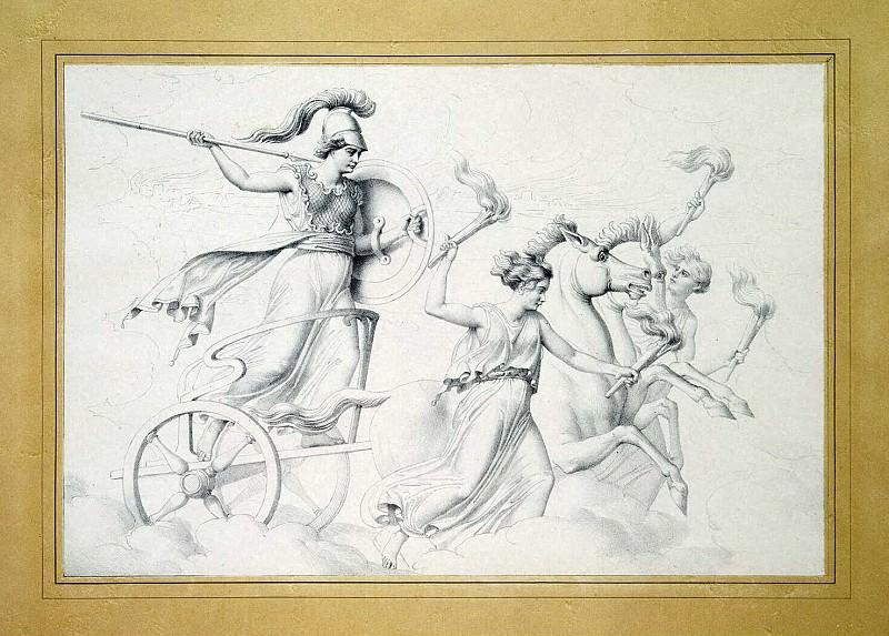 Шоппе, Юлиус Старший - Живые картины. Колесница Беллоны. Эрмитаж ~ часть 13