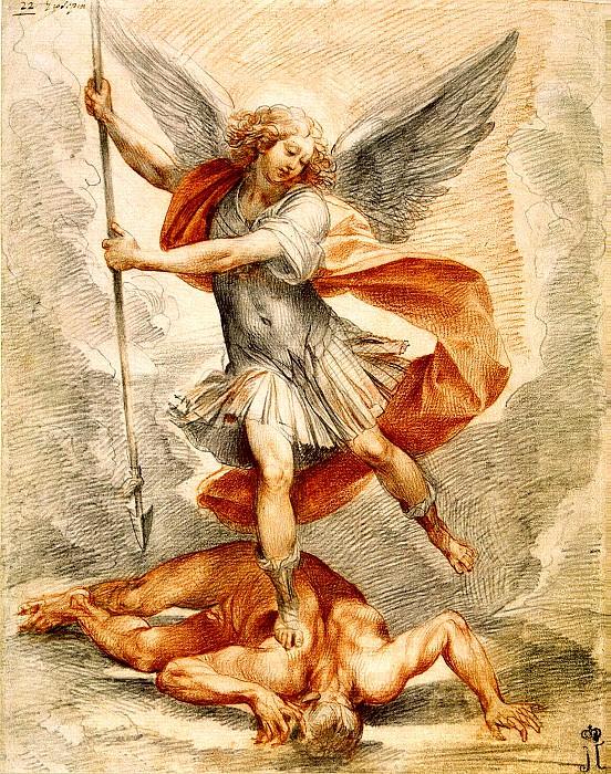 Cesari, Giuseppe. The Archangel Michael. Hermitage ~ part 13