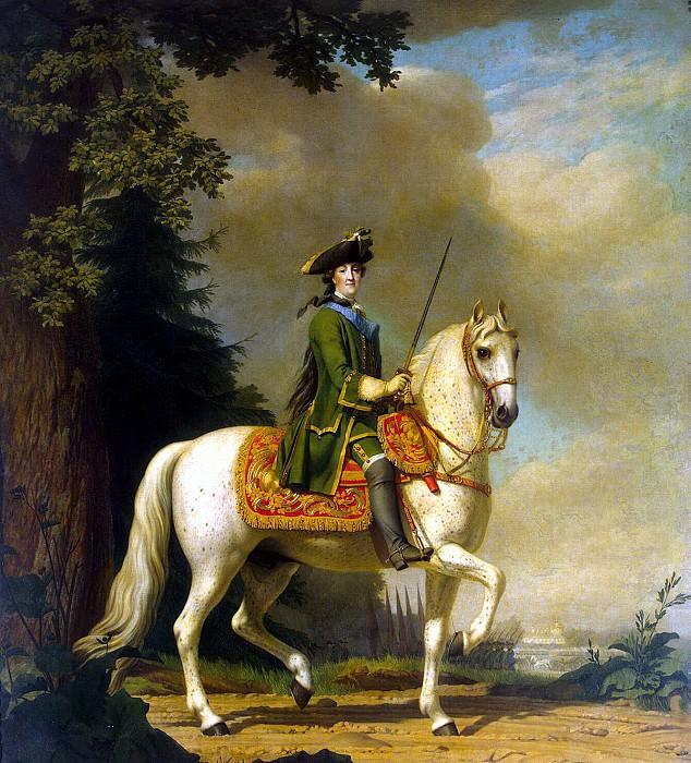 Eriksen, Virgilius. Catherine II on horseback. Hermitage ~ part 13