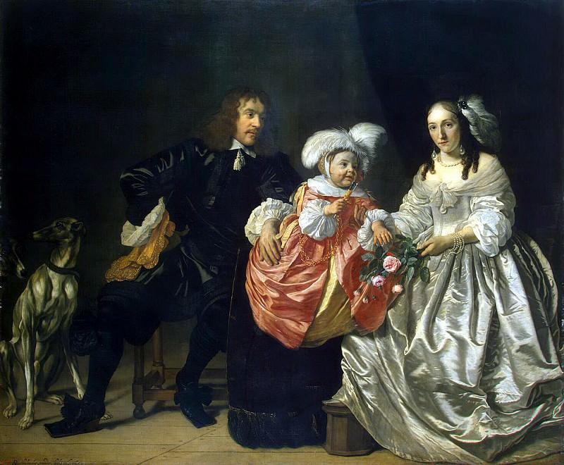 Helst, Bartholomeus van der. Family Portrait. Hermitage ~ part 13