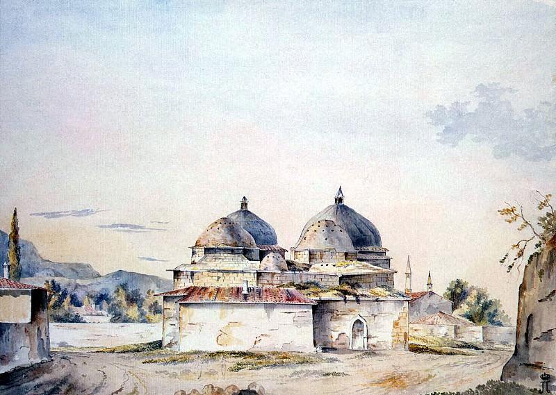 Hadfield, William. Bahchissarayskie baths. Hermitage ~ part 13