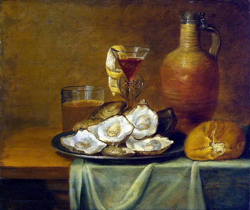 Es, Jacob van. Breakfast with oysters. Hermitage ~ part 13