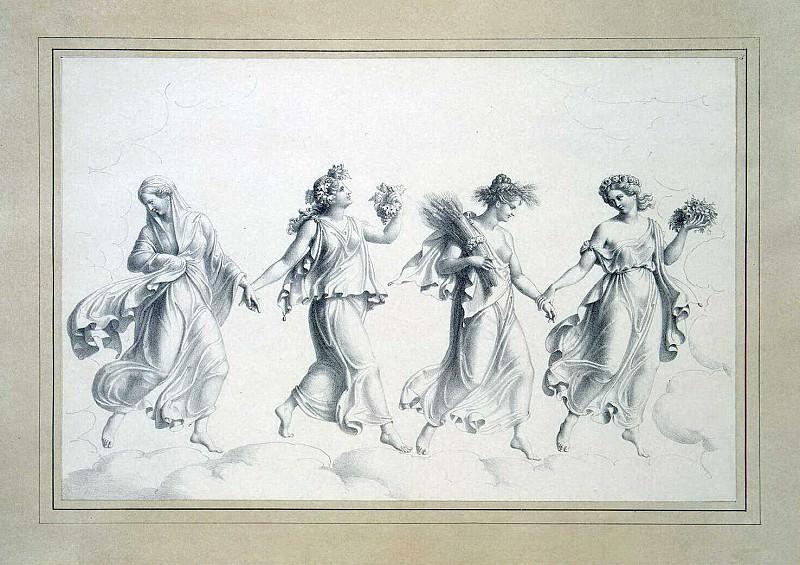 Шоппе, Юлиус Старший - Живые картины. Танец времен года. Эрмитаж ~ часть 13