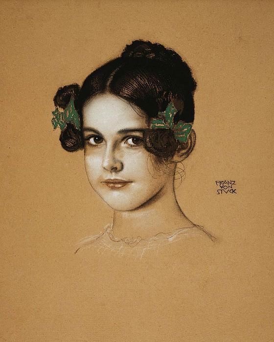 Stuck, Franz von. Portrait Marie Stuck. Hermitage ~ part 13