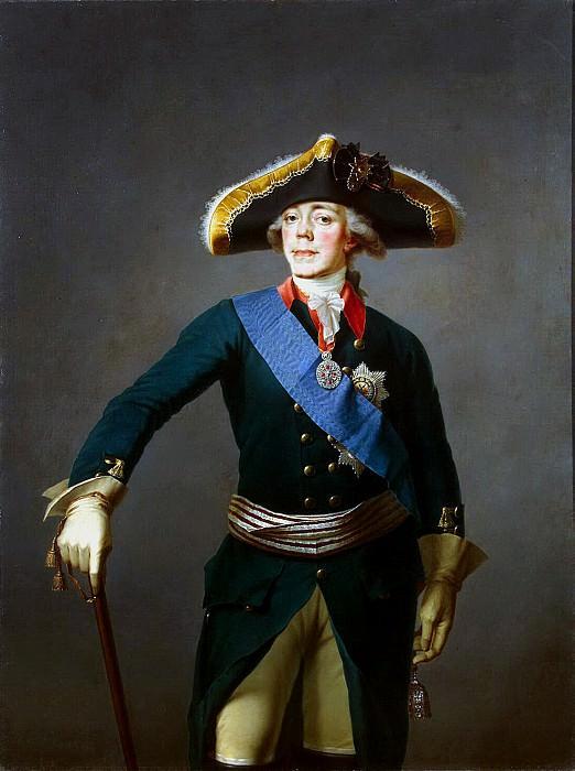 Shchukin Stepan Semenovich. Portrait of Paul I. Hermitage ~ part 13