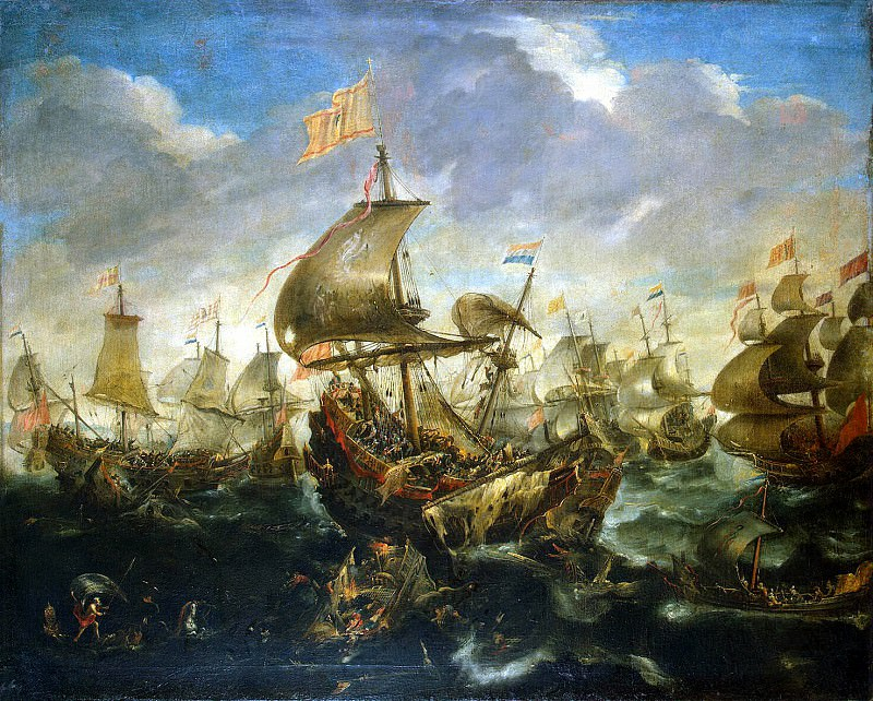 Ertfelt, Andris van. Sea battle. Hermitage ~ part 13