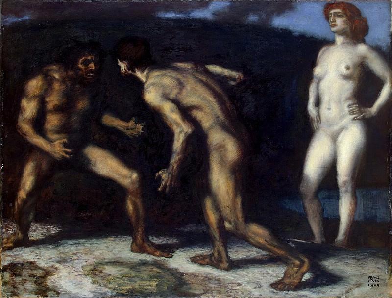 Stuck, Franz von. The struggle for woman. Hermitage ~ part 13