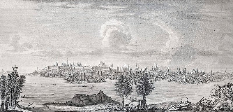 Chelnakov, Nikita Fedorovich. View of Kazan from the River Kazanka. Hermitage ~ part 13