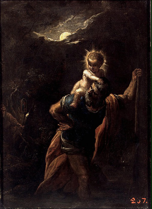 Elsheymer, Adam. St. Christopher. Hermitage ~ part 13