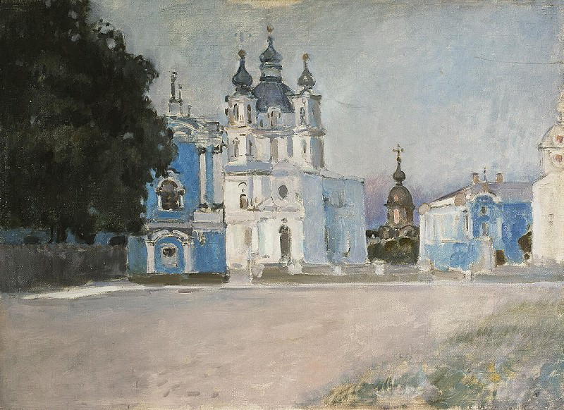 Yaremich, SP. Type of Smolny Cathedral. Hermitage ~ part 13