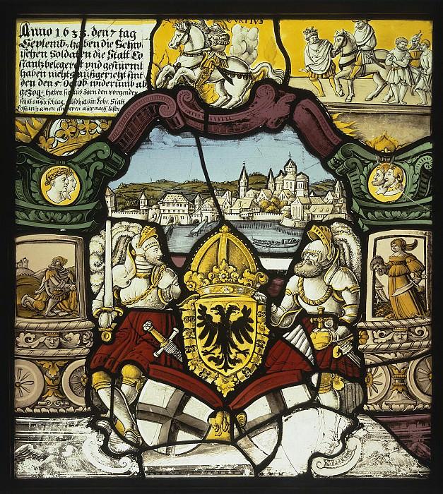 Штильхарт, Каспар - Витраж с изображением города Констанца. Эрмитаж ~ часть 13