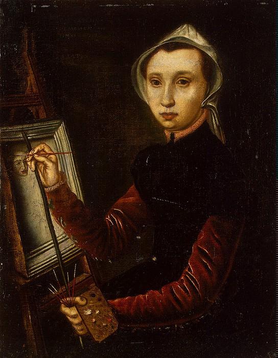 Hemessen, Catharine van. Self-portrait. Hermitage ~ part 13