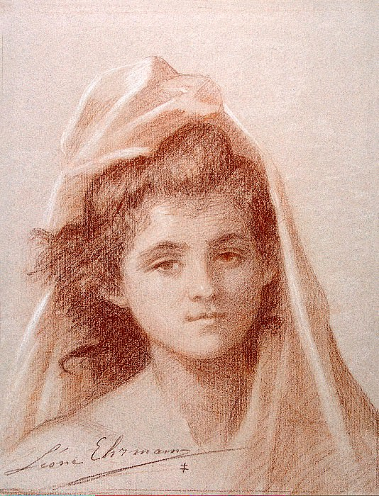 Эрманн, Леон - Портрет женщины. Эрмитаж ~ часть 13
