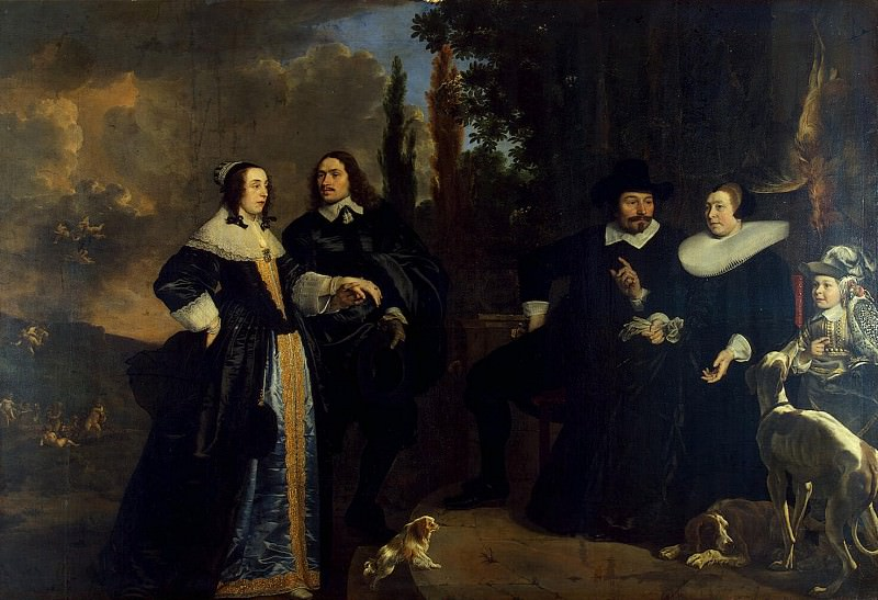 Helst, Bartholomeus van der. Submission newlywed. Hermitage ~ part 13