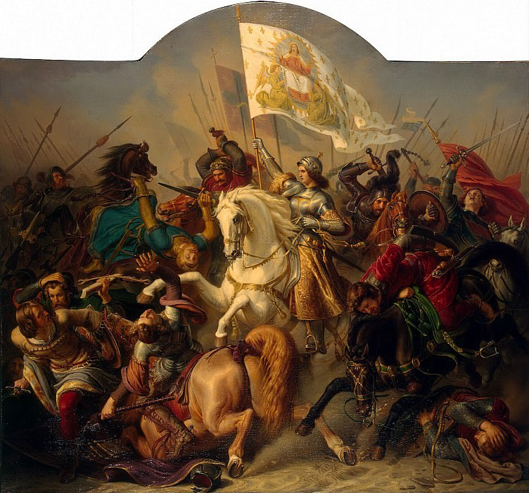 Shtilke, Herman Anton. Joan of Arc in battle. Hermitage ~ part 13
