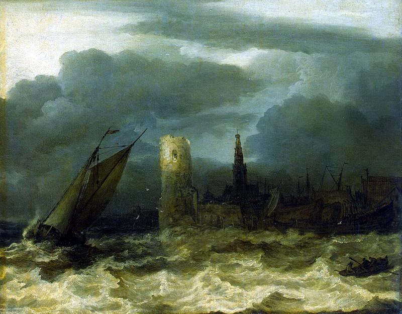 Everdingen, Allart van. Scheldt Estuary. Hermitage ~ part 13