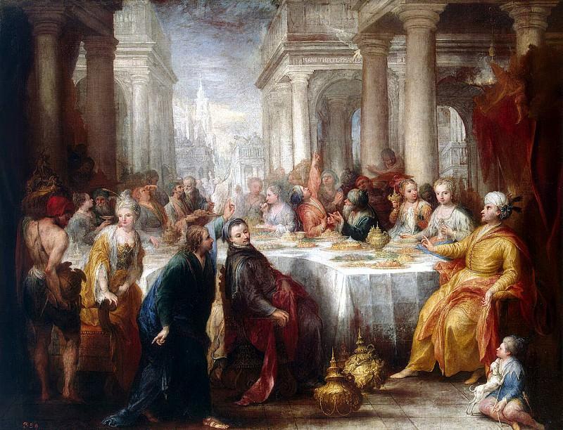 Celeste, Andrea. Feast of Belshazzar. Hermitage ~ part 13