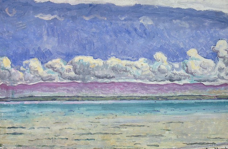 Hodler, Ferdinand. Lake. Hermitage ~ part 13