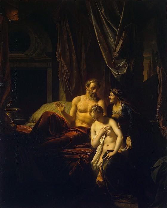 Werff, Adriaen van der - Sarah introduces Hagar to Abraham. Hermitage ~ part 03