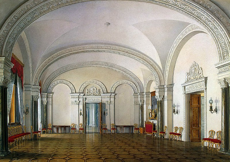 Hau Edward Petrovich - Types of rooms of the Winter Palace. The second half of the spare. First Meeting. Hermitage ~ part 03