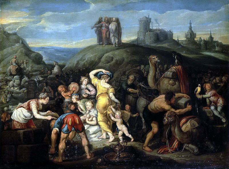 Vos, Simon de - Israelites after crossing the Red Sea. Hermitage ~ part 03