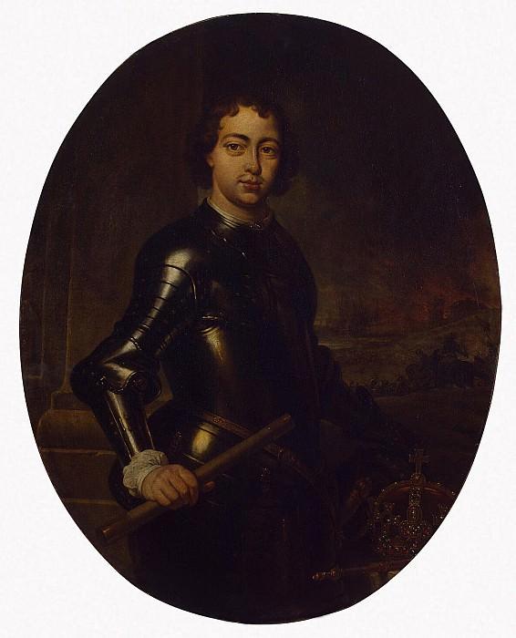 Veniks, Jan - Portrait of Peter I. Hermitage ~ part 03
